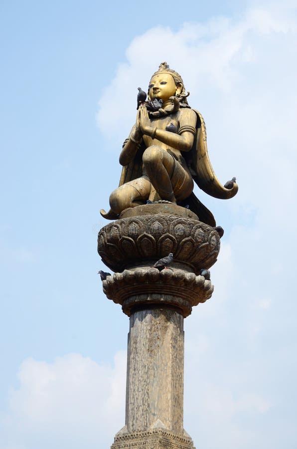 Garuda - Mythical Bird Creature In Buddhist Mythology Royalty Free Stock Photography