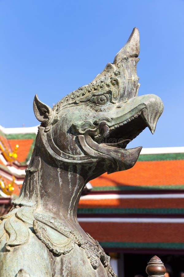 Garuda no palácio grande, Banguecoque fotos de stock