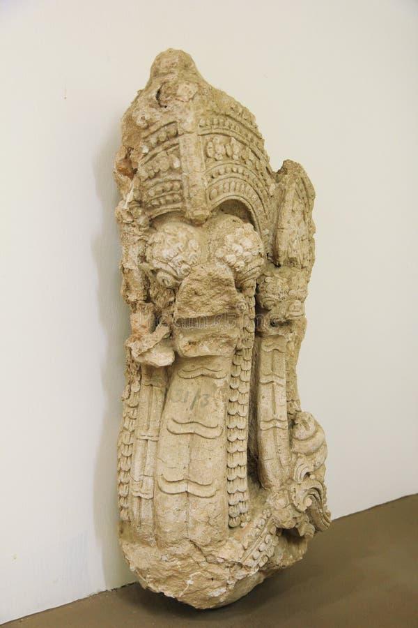 Garuda sculpture of Lanna art in the 18th-19th century stock photos