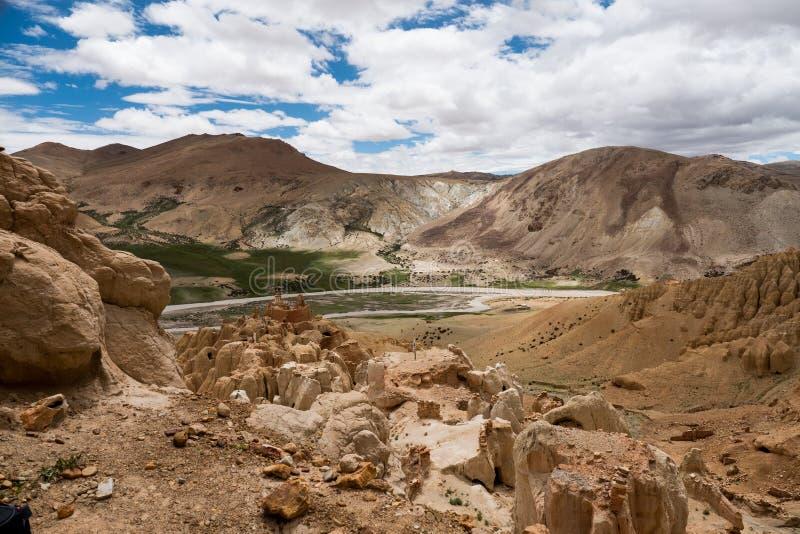 Garuda valley Tibet Himalayas mountain. Kailash Yantra.lv 2016 TIBET royalty free stock images