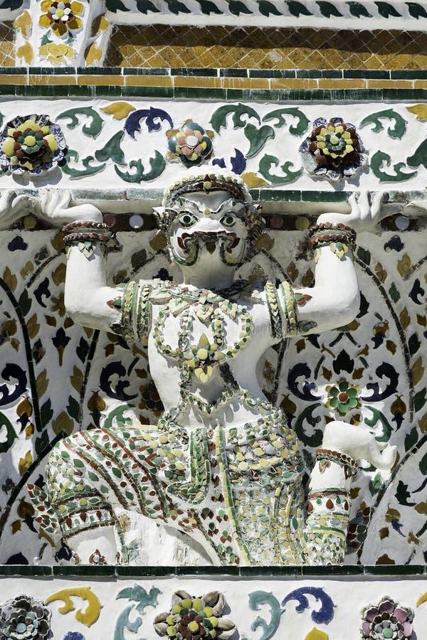 Garuda van Wat in Bangkok Thailand royalty-vrije stock foto's