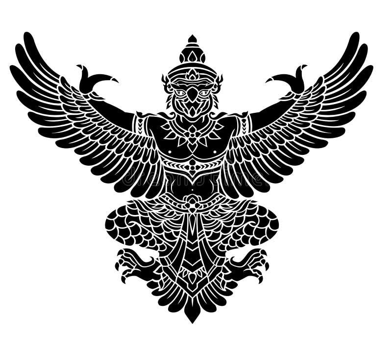 Garuda vektor vektor illustrationer