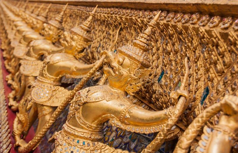 Garuda in Wat Phra Kaew, Tempel van Emerald Buddha royalty-vrije stock fotografie