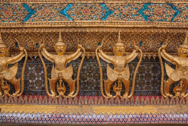 Garuda in Wat Phra Kaew, Tempel van Emerald Buddha, Grote Vriend royalty-vrije stock foto's