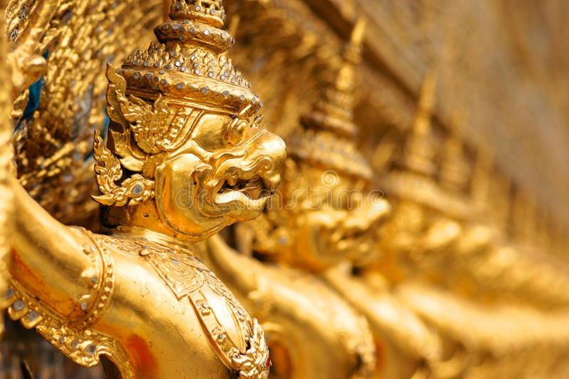 Garuda in Wat Phra Kaew royalty free stock photos