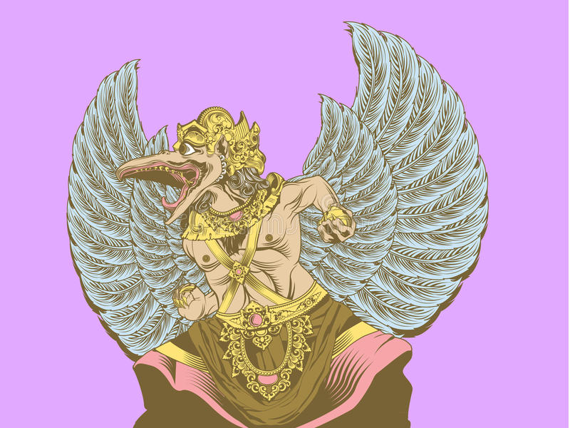 Garuda wisnu kencana royalty free stock photography