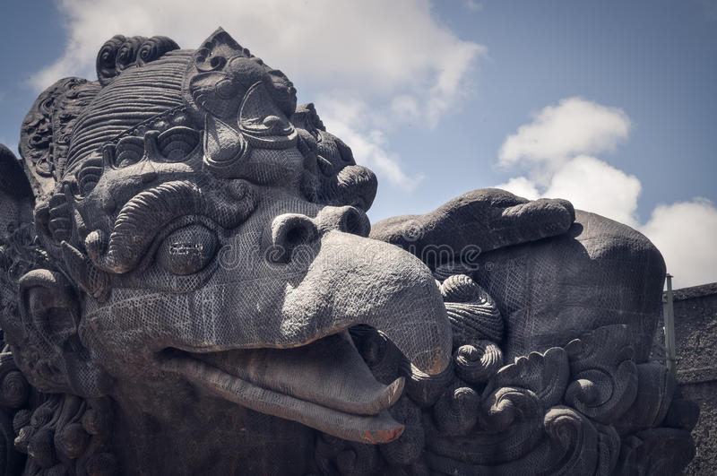 Garuda Wisnu Kencana immagini stock
