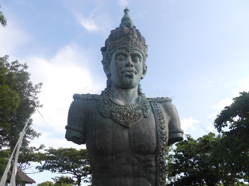 Garuda Wisnu Kencana Bali Island arkivbilder