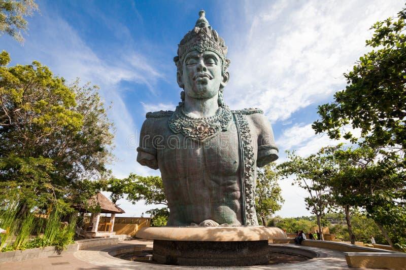Garuda Wisnu Kencana Cultural Park in Bali Indonesië stock fotografie