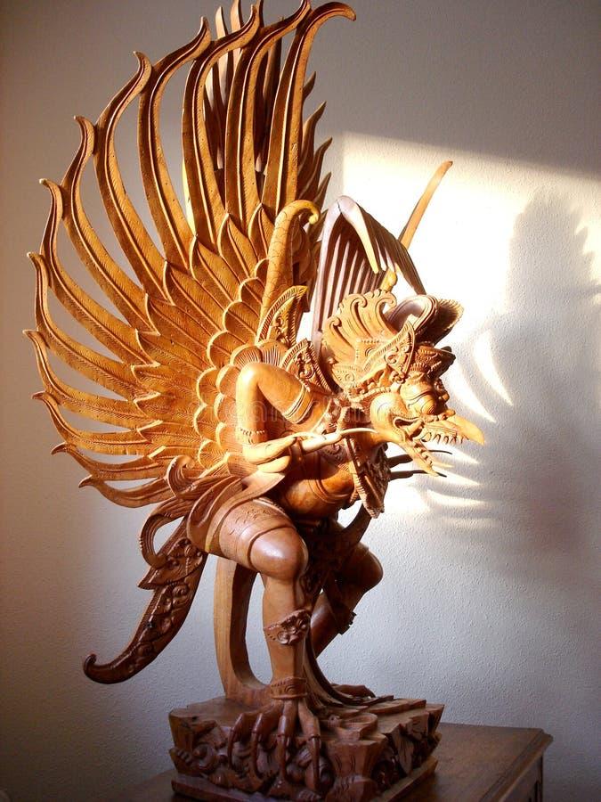 Download Garuda2 stock image. Image of wood, ancient, wings, shadow - 195643
