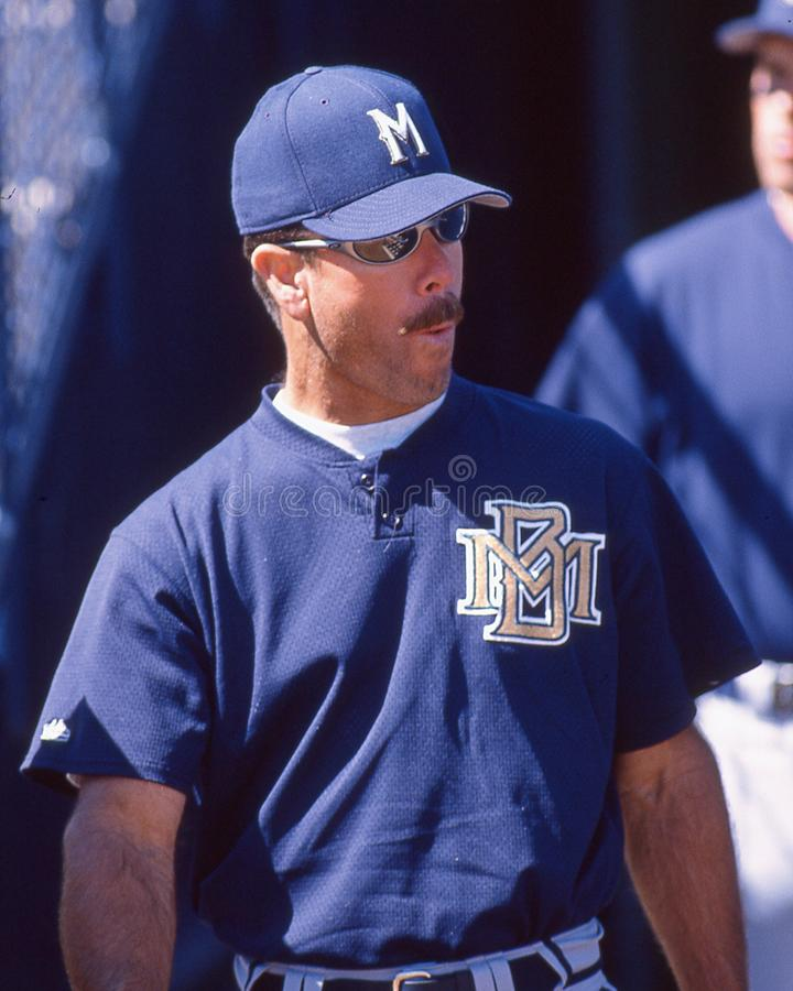 Gary Allenson, Milwaukee Brewers stockfoto