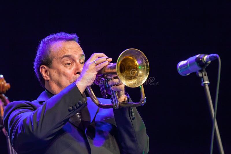 Gary Guthman a jazz 2015 di Kaunas fotografia stock