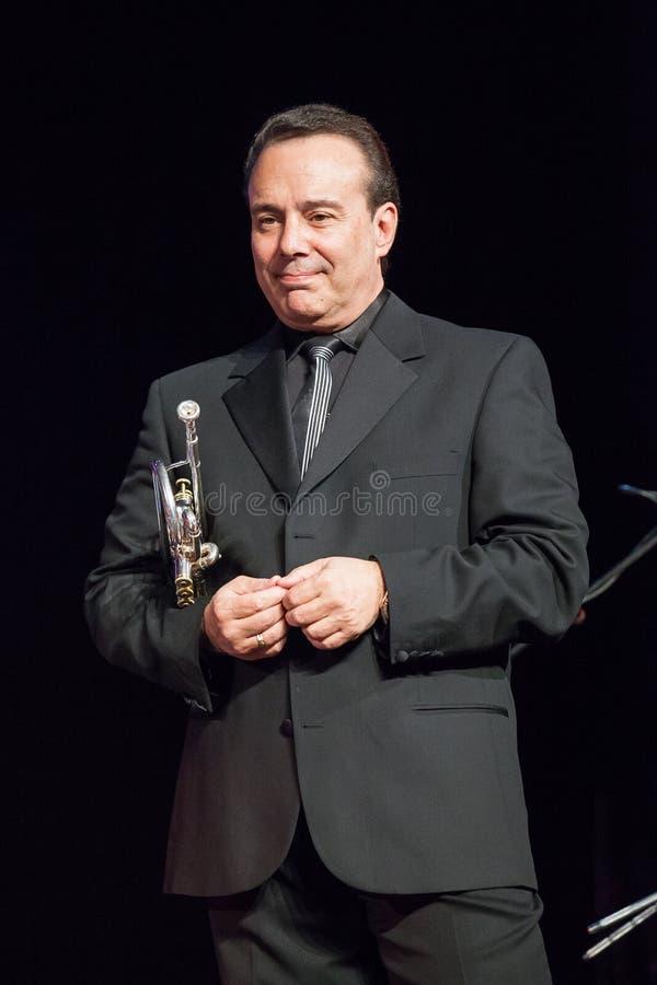 Gary Guthman przy Kaunas jazzem 2015 zdjęcie stock