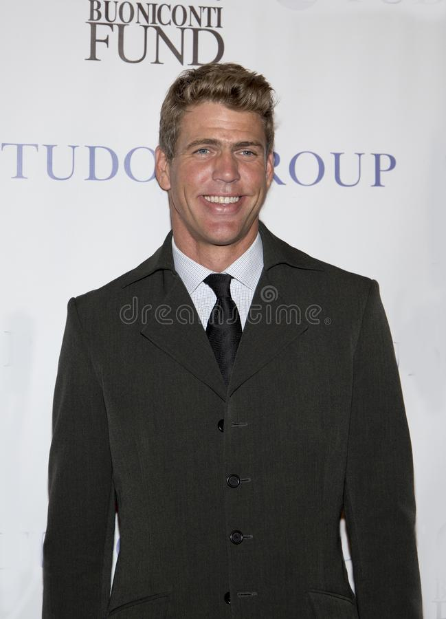 Gary Hall, Jr. American Gary Hall, Jr. has won 10 Olympic Swimming Medals, including 5 golds. He attends the 33rd Annual Great Sports Legends Dinner, at the New stock image