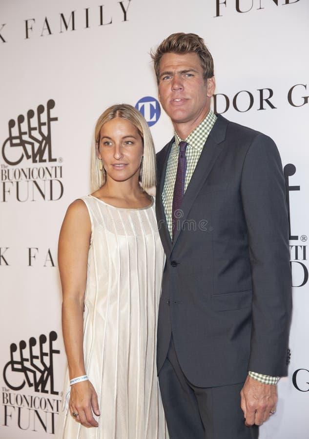 Gary Hall Jr. and Kimberly Vanderberg royalty free stock photo