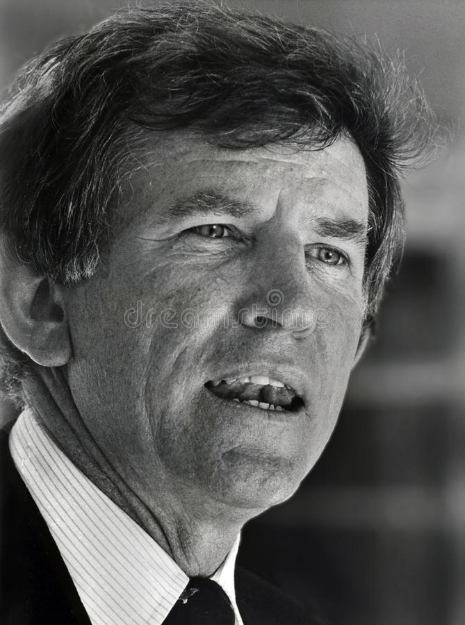 Gary Hart. Colorado U.S. Senator Gary Hart visits the Hebrew Union College-Jewish Institute of Religion Jerusalem campus in July, 1986. At this time, a stock photography