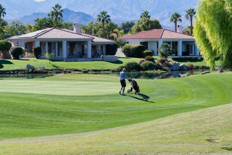 Gary Player Golf Course Rancho Mirage arkivbilder