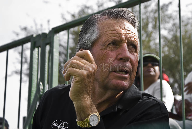 Gary Player. One South Africas most successful professional golfers, of all time. Sun City  Golf Course. Nedbank Million Dollar Golf Tournament 2009. Nedbank stock image