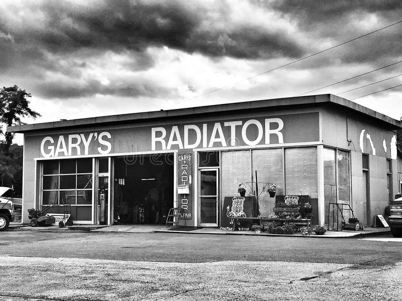 Gary Radiator royalty-vrije stock foto