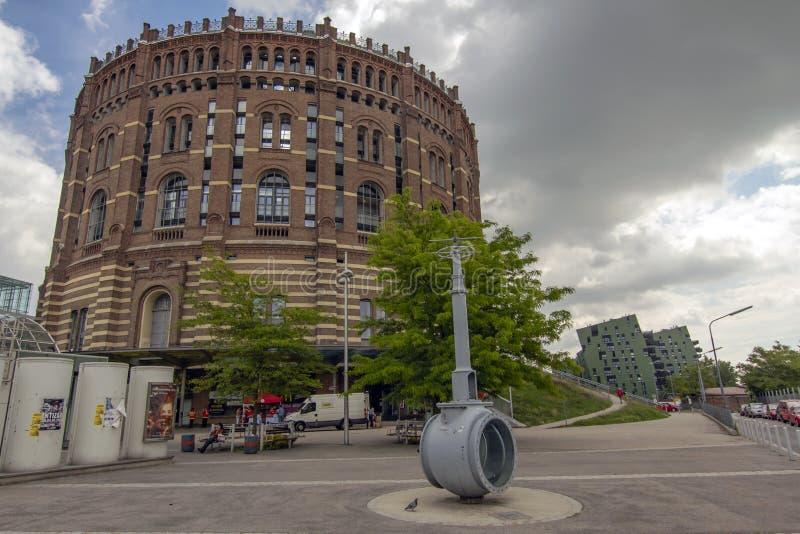 Gasômetro, Viena, Áustria fotos de stock royalty free