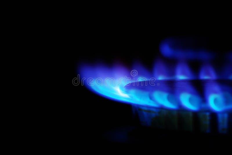 Gas imagen de archivo