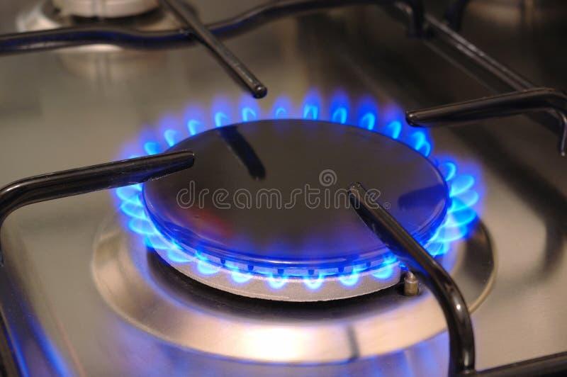 Gas royalty-vrije stock afbeelding