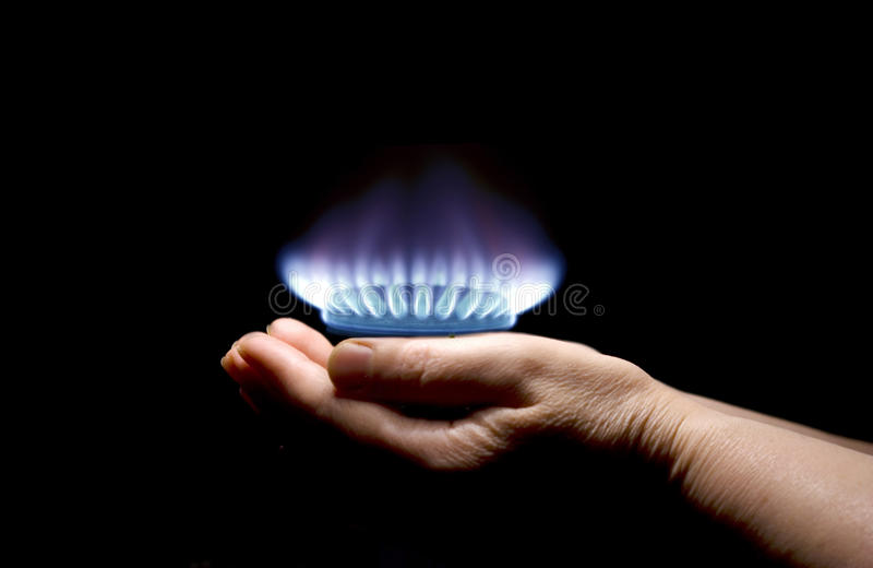 gas royaltyfri bild