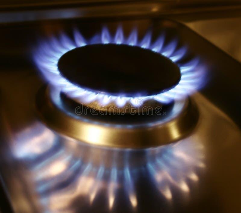 Gas royalty-vrije stock foto