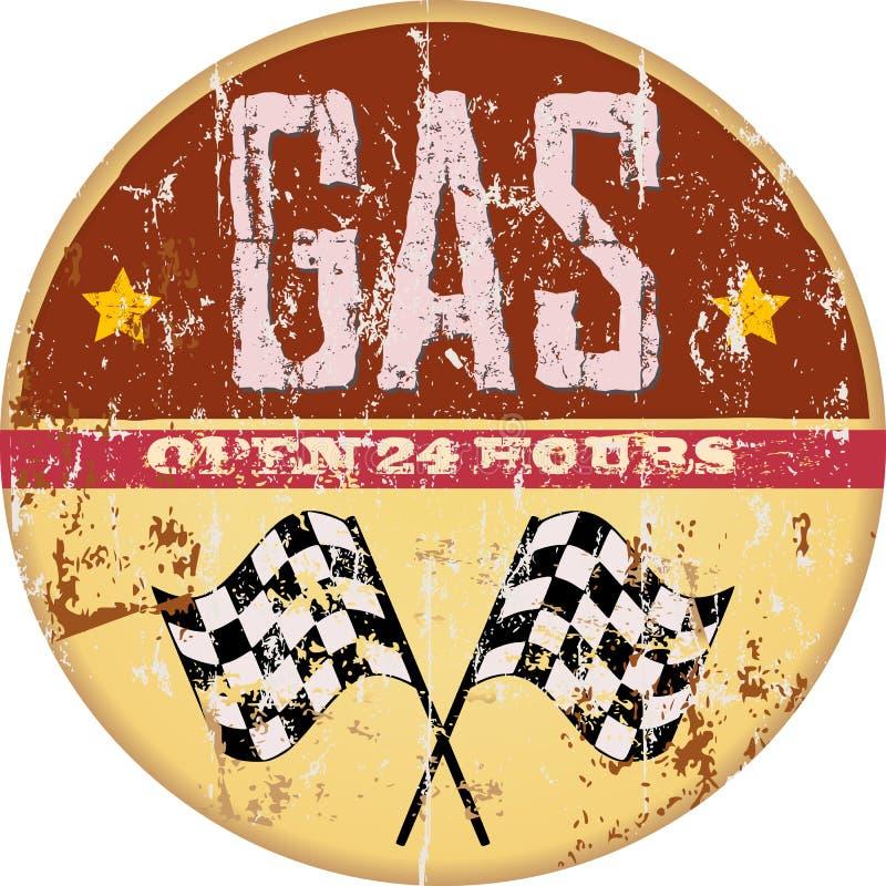 Gas illustrazione di stock