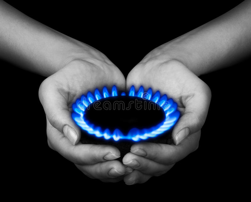 Gas stock fotografie