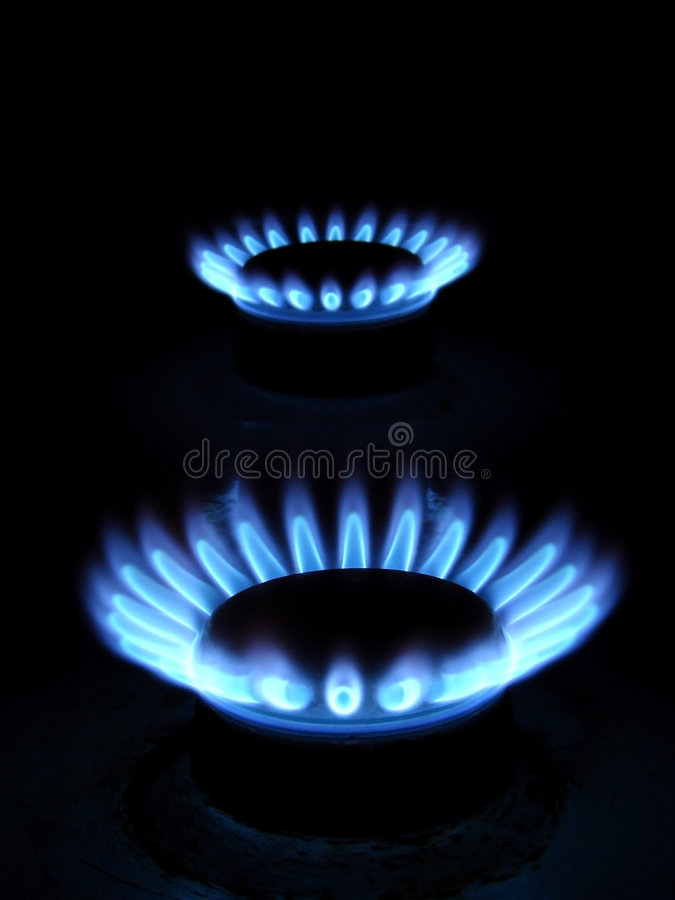 Gas immagine stock libera da diritti