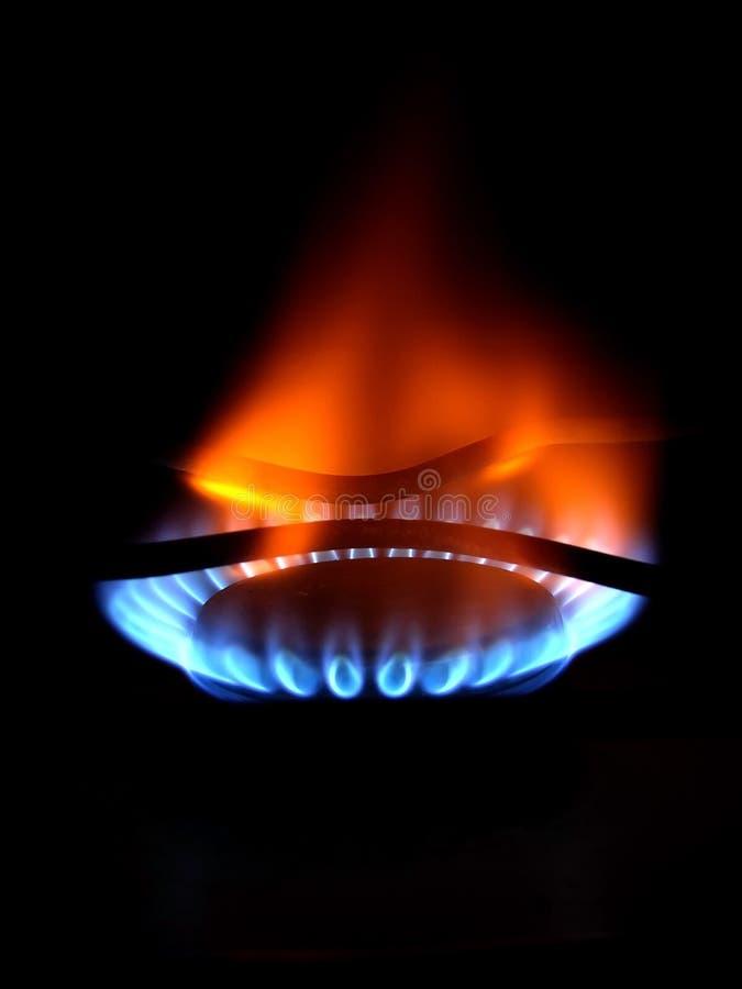 Gas foto de archivo
