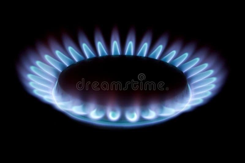 Gas fotografia stock