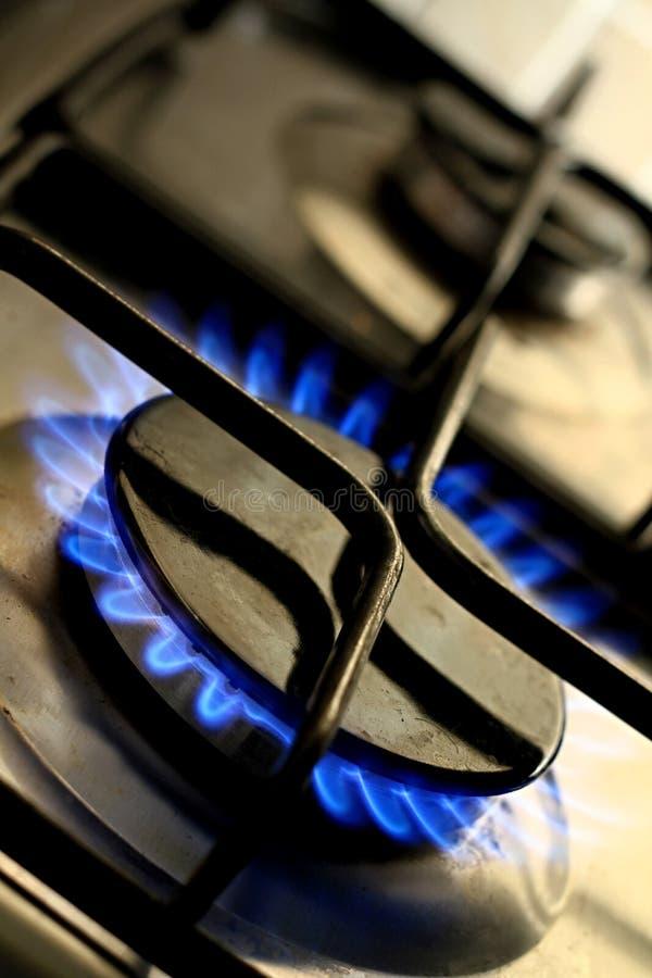 Gas stock foto