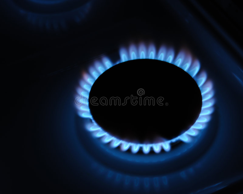 Gas royalty-vrije stock fotografie
