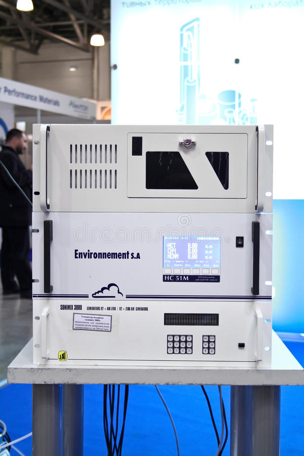 Download Gas Analyzer And A Hydrogen Generator Editorial Stock Photo - Image: 23983423