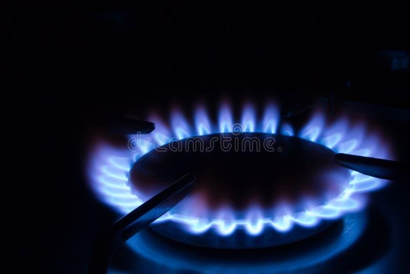 Gas ardiente 1 foto de archivo