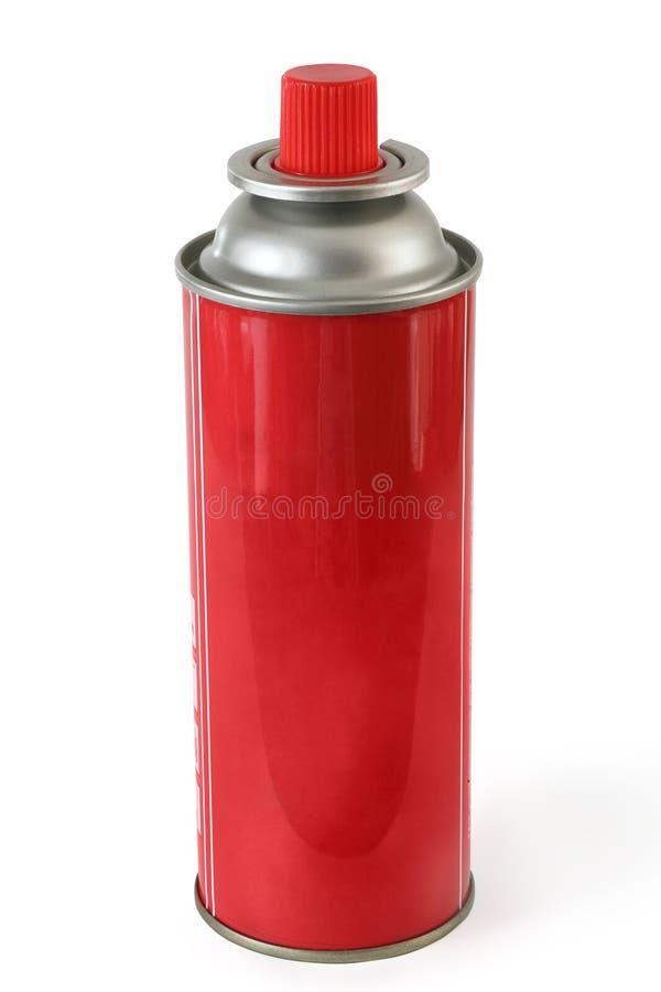 Gas bottle stock image