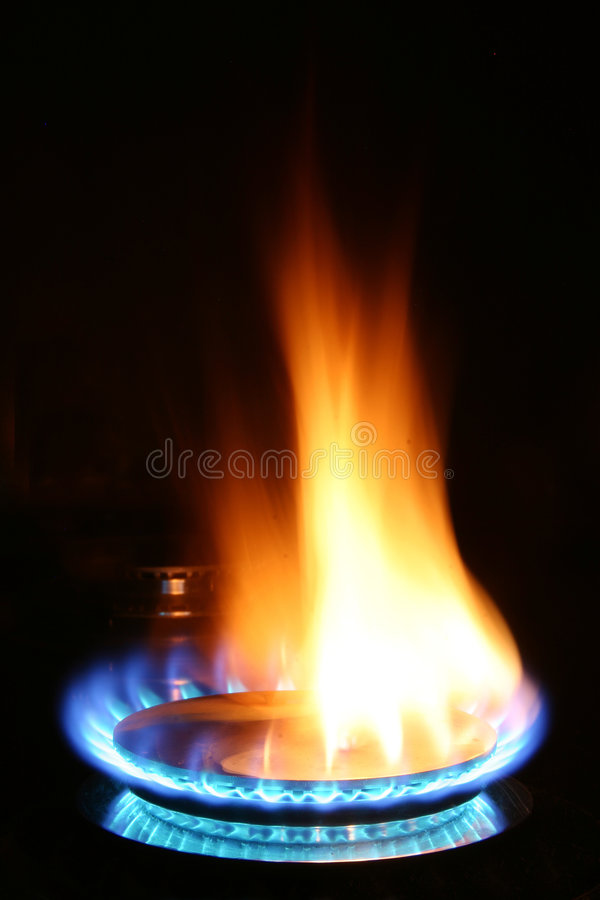 Free Gas Burner Royalty Free Stock Photography - 99337