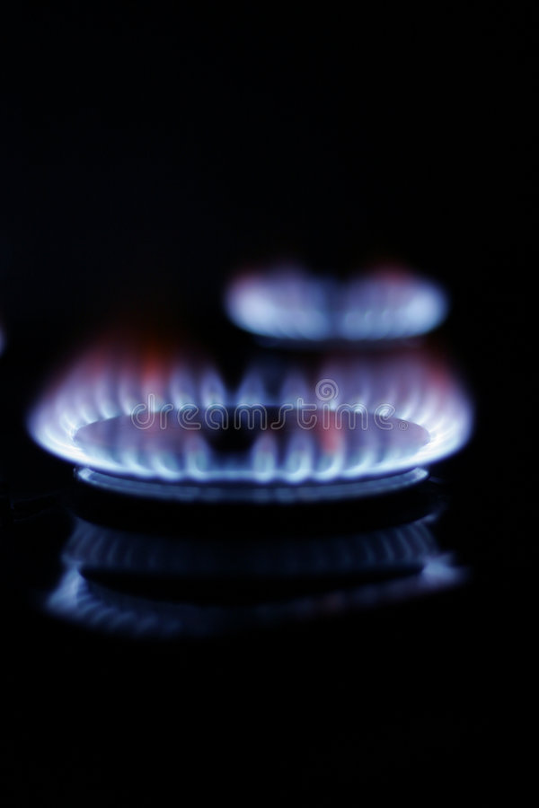 Download Gas Burning stock photo. Image of kitchen, warmth, warm - 453688