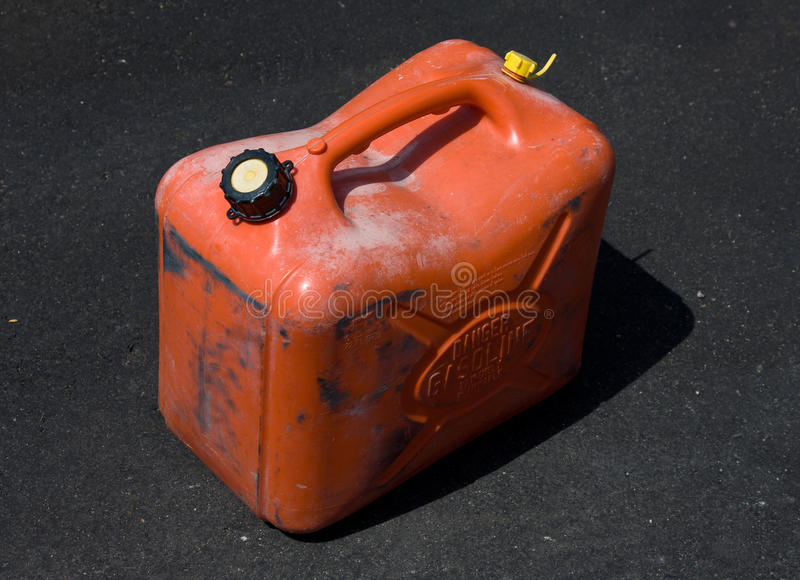 Download Gas can stock photo. Image of danger, orange, pavement - 15218416