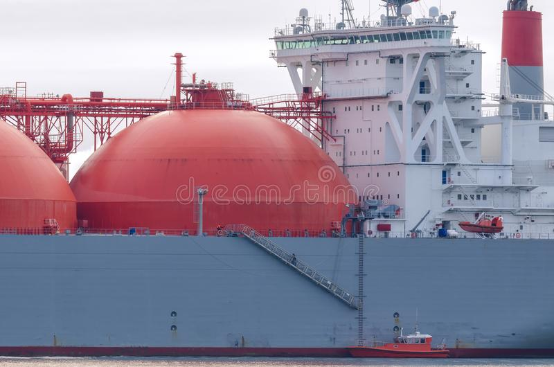 GAS CARRIER stock photo
