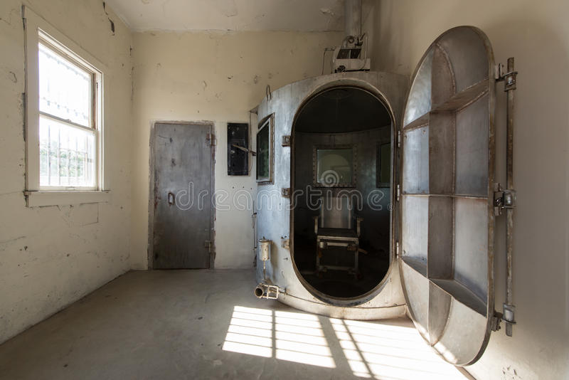 Gas chamber editorial photo image of interior penalty for Camp du struthof chambre a gaz
