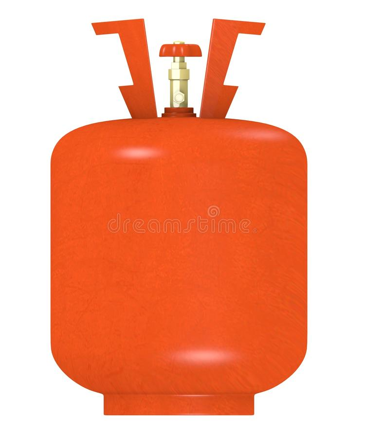 Download Gas container 9 stock illustration. Illustration of home - 24352367