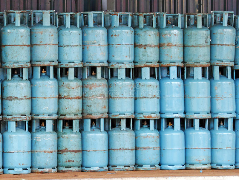 Download Gas cylinder stock image. Image of container, stock, pressure - 14450451