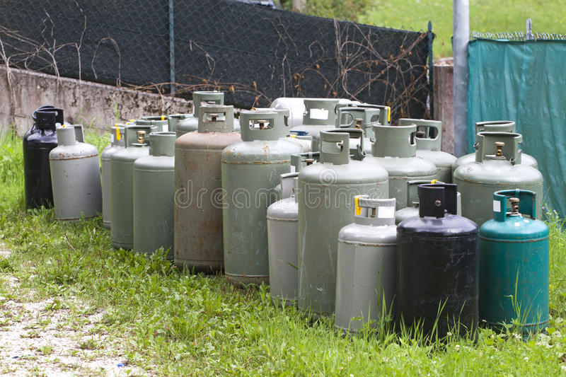 Download Gas cylinder stock image. Image of combustible, flammable - 16785019