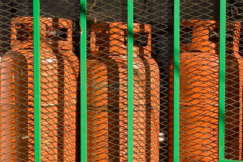 Gas del butano fotos de archivo