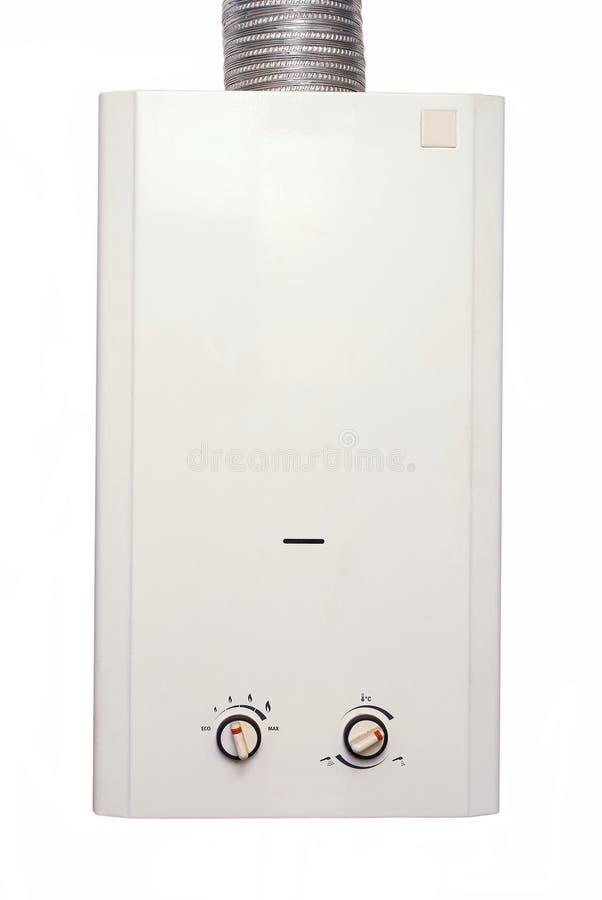 Gas del calentador de agua imagen de archivo libre de regalías