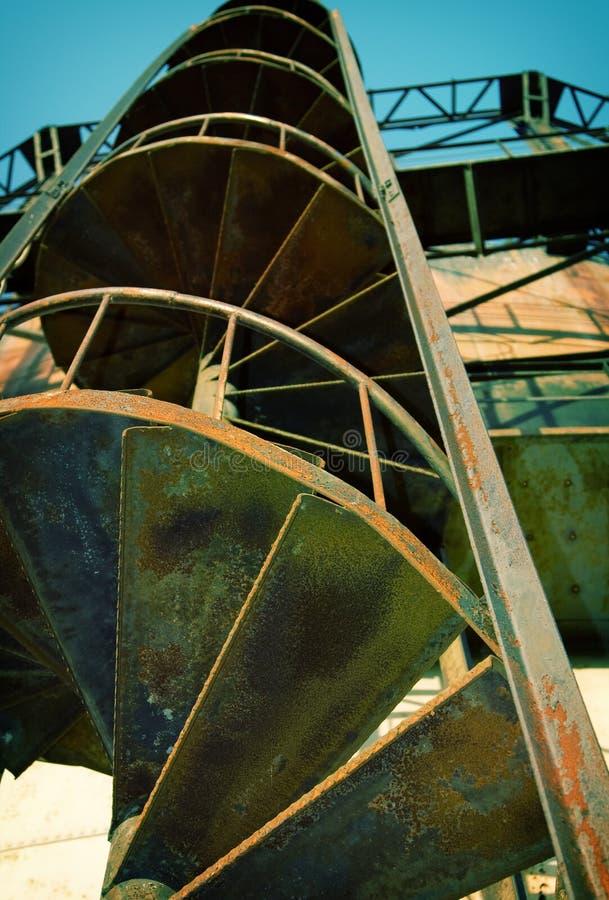 gas della fabbrica fotografie stock libere da diritti