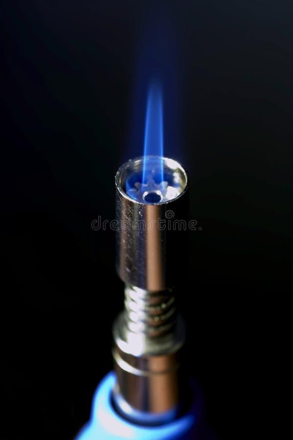 gas för 02 gasbrännare royaltyfri fotografi
